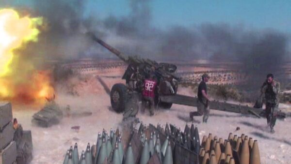 Сирийские солдаты отразили атаку боевиков на северо-западе провинции Хама - Sputnik Азербайджан