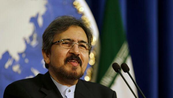 Пресс-секретарь министерства иностранных дел Исламской Республики Бахрам Гасеми, архивное фото - Sputnik Азербайджан
