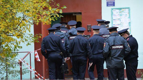 Сотрудники правоохранительных органов РФ, архивное фото - Sputnik Азербайджан