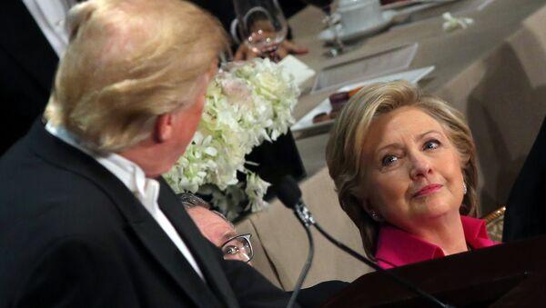 Кандидаты в президенты США Хиллари Клинтон и Дональд Трамп, фото из архива - Sputnik Азербайджан
