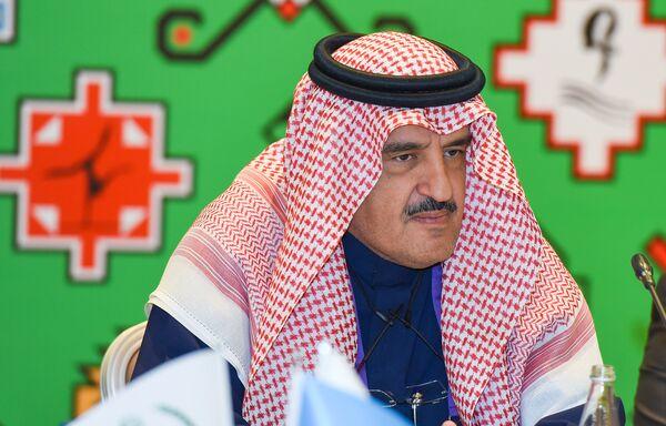 Генеральный секретарь СФИС Файсал Абдулазиз Аль-Нассар - Sputnik Азербайджан