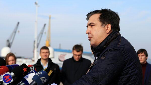Михаил Саакашвили, архивное фото - Sputnik Азербайджан