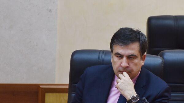 Президент Украины П.Порошенко назначил М.Саакашвили главой Одесской области - Sputnik Azərbaycan