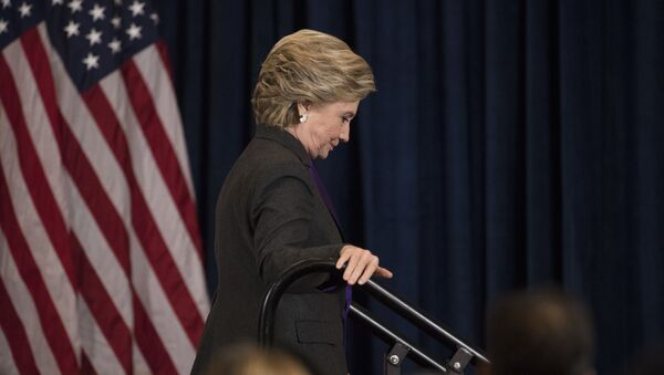 Кандидат в президенты США от Демократической партии Хиллари Клинтон - Sputnik Азербайджан