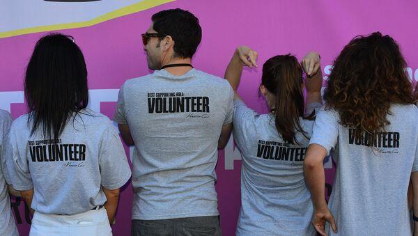 Волонтеры, фото из архива - Sputnik Азербайджан