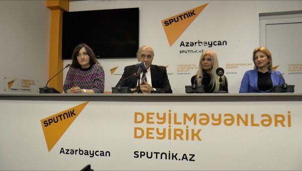 Fəxri ad alan tele-jurnalistlər - Sputnik Azərbaycan
