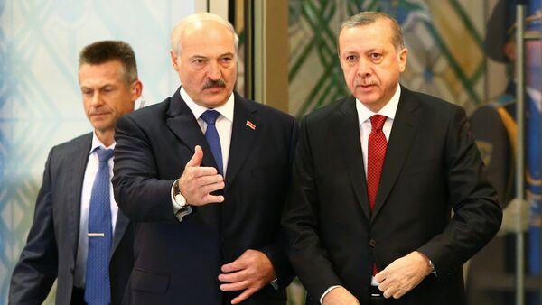 Александр Лукашенко и Реджеп Эрдоган - Sputnik Азербайджан