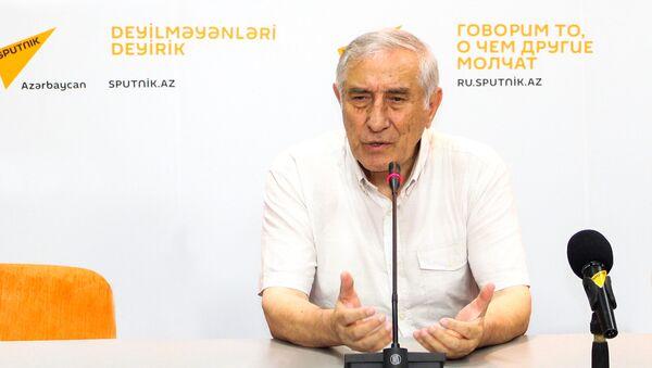 Учредитель и главный редактор газеты Питерские азербайджанцы Максим Мусаев - Sputnik Азербайджан