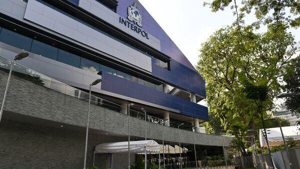 Глобальный инновационный комплекс Интерпола в Сингапуре, фото из архива - Sputnik Azərbaycan