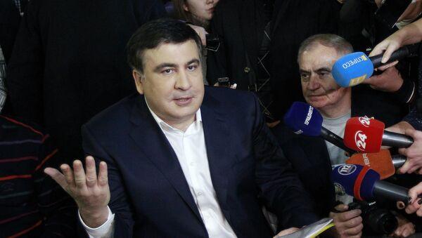 Губернатор Одесской области Михаил Саакашвили - Sputnik Азербайджан