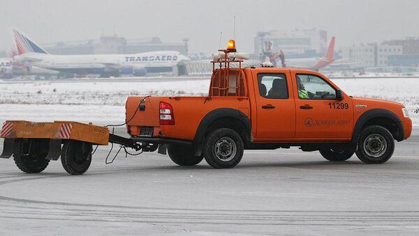 Rusiyanın Domodedovo aeroportu - Sputnik Azərbaycan