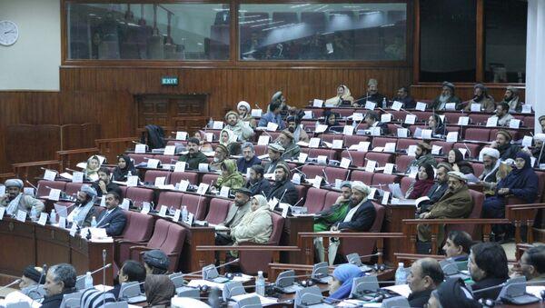 Əfqanıstan parlamenti - Sputnik Azərbaycan