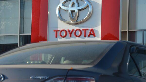 Компания Toyota отзывает ряд автомобилей из-за неисправности, фото из архива - Sputnik Азербайджан