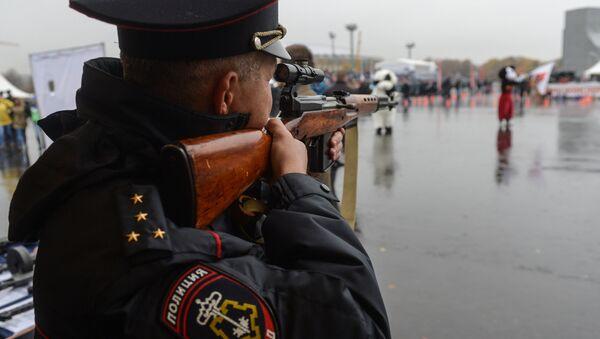 Московская полиция, фото из архива - Sputnik Азербайджан