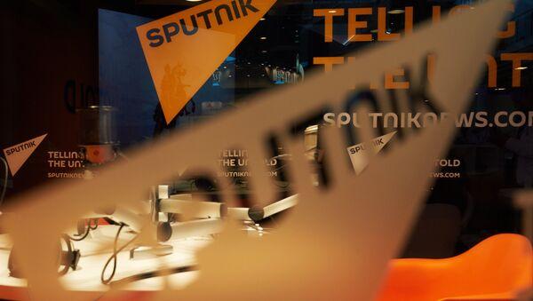 Павильон международного информационного бренда Спутник. Архивное фото. - Sputnik Азербайджан