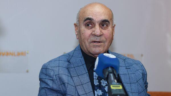 Политолог Расим Агаев в Мультимедийном пресс-центре Sputnik Азербайджан - Sputnik Азербайджан