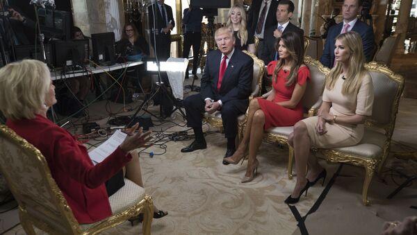 ABŞ-ın yeni prezidenti Donald Trampın CBS kanalına müsahibəsi - Sputnik Azərbaycan