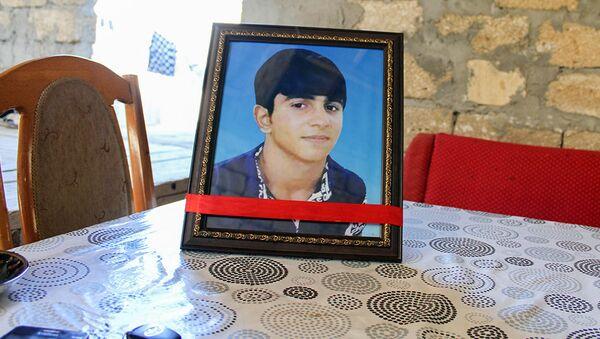 Фотография Теймура Гасанли, покончившего жизнь самоубийством - Sputnik Азербайджан