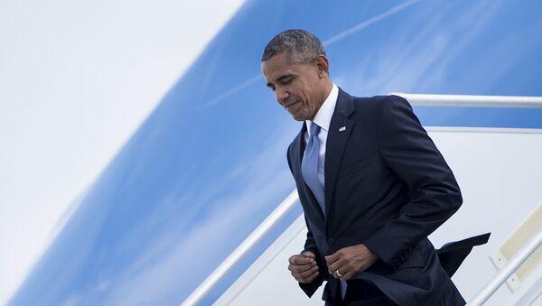 Президент США Барак Обама - Sputnik Азербайджан