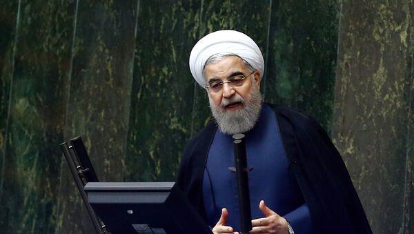 Президент Ирана Хасан Роухани, фото из архива - Sputnik Азербайджан