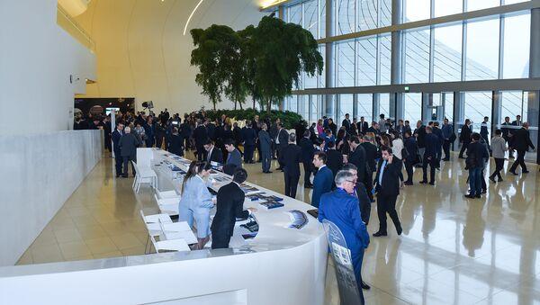 Пятый Всемирный конгресс новостных агентств в Баку - Sputnik Азербайджан