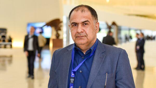Исполнительный директор агентства IRNA Мохаммад Ходдади на V Всемирном конгрессе новостных агентств в Баку - Sputnik Азербайджан
