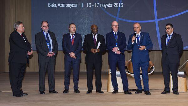 Второй день V Всемирного конгресса новостных агентств и XVI Генеральной ассамблеи OANA в Баку - Sputnik Азербайджан