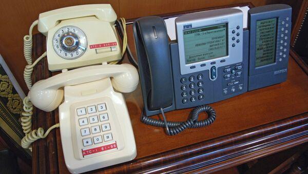 Телефоны правительственной связи, фото из архива - Sputnik Азербайджан