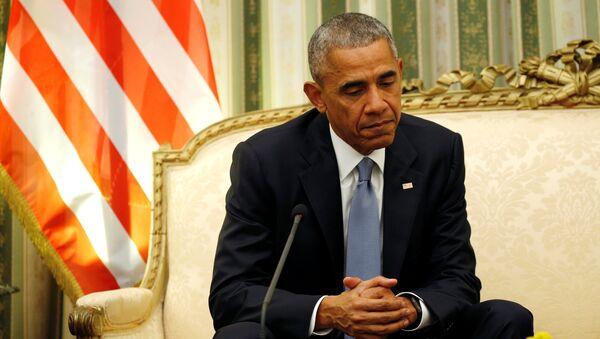 Президент США Барак Обама, фото из архива - Sputnik Azərbaycan