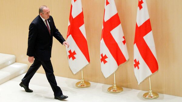 Президент Грузии Георгий Маргвелашвили - Sputnik Азербайджан