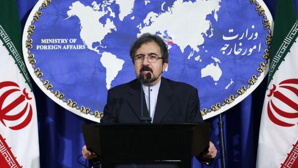 Спикер министерства иностранных дел Ирана Бахрам Касеми - Sputnik Азербайджан