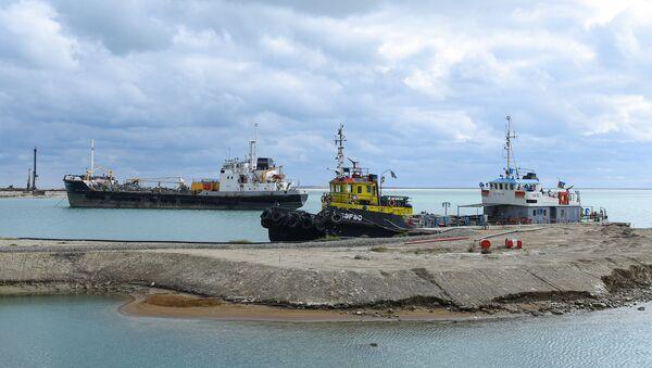 Бакинский международный морской торговый порт - Sputnik Azərbaycan
