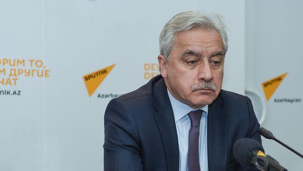 Директор Института философии НАНА Ильхам Мамедзаде - Sputnik Азербайджан