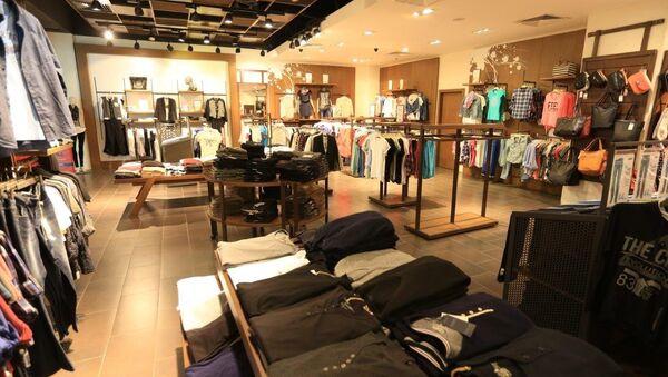 Магазин турецкой одежды в Баку, фото из архива - Sputnik Азербайджан