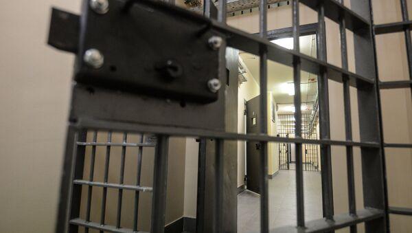 Тюремная дверь, фото из архива - Sputnik Азербайджан