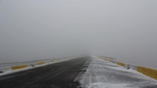 Снег, фото из архива - Sputnik Азербайджан