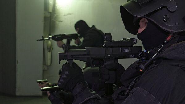 Антитеррористическая операция, фото из архива - Sputnik Азербайджан