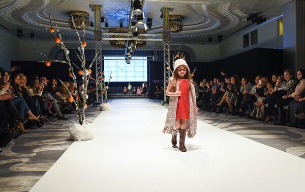 Открытие Baku Fashion Week - Sputnik Азербайджан