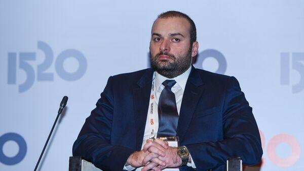 Генеральный директор, председатель совета директоров АО Грузинская железная дорога Мамука Бахтадзе - Sputnik Azərbaycan