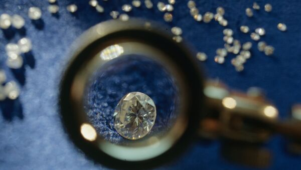 Якутские бриллианты, фото из архива - Sputnik Азербайджан