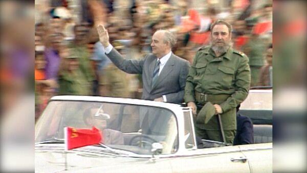 Фидель Кастро умер в возрасте 90 лет. Кадры с кубинским революционером - Sputnik Азербайджан