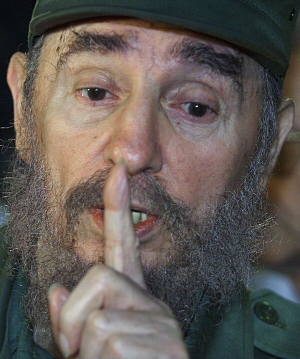 Фидель Кастро - Sputnik Азербайджан