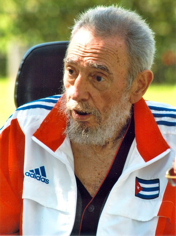 Фидель Кастро в 2008 году - Sputnik Азербайджан