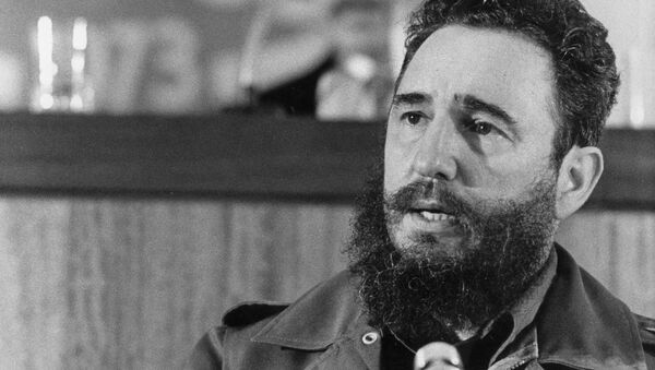 Фидель Кастро в 1973 году - Sputnik Азербайджан
