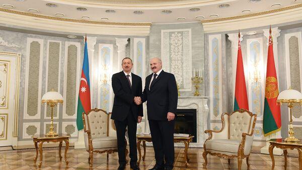 Встреча президентов Беларуси и Азербайджана Александра Лукашенко и Ильхама Алиева, фото из архива - Sputnik Азербайджан
