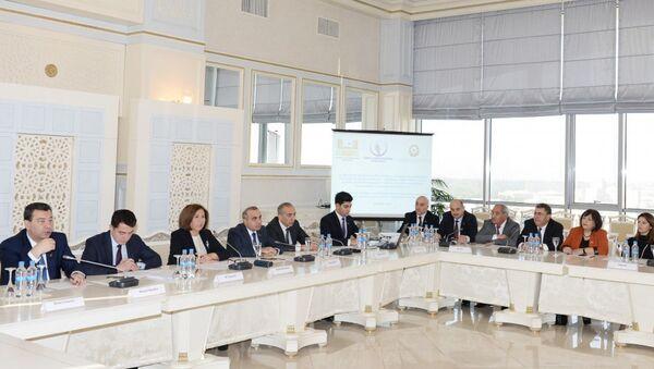 Презентация проекта Изучение правовых аспектов признания на мировом уровне преступлений геноцида и этнической чистки - Sputnik Азербайджан