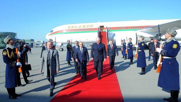 Лукашенко прибыл в Азербайджан - Sputnik Азербайджан