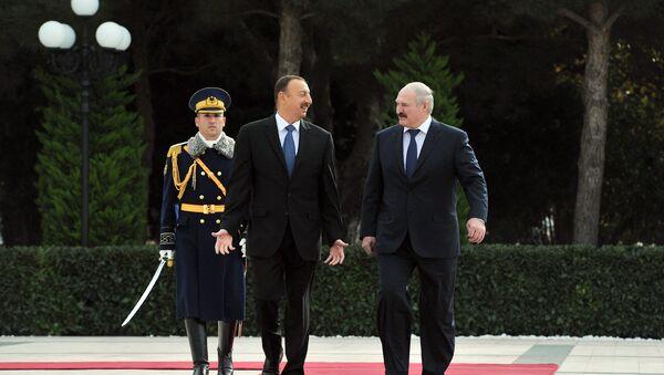 Церемония официальной встречи Президента Беларуси Александра Лукашенко, фото из архива - Sputnik Азербайджан