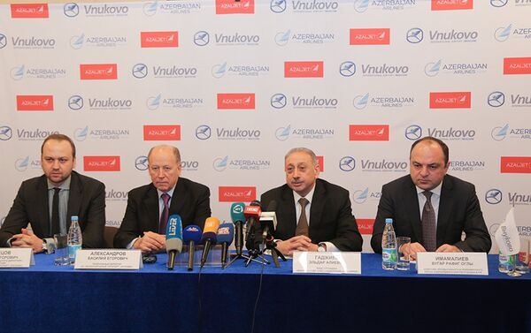 AZALJET увеличивает количество регулярных рейсов в Москву - Sputnik Азербайджан