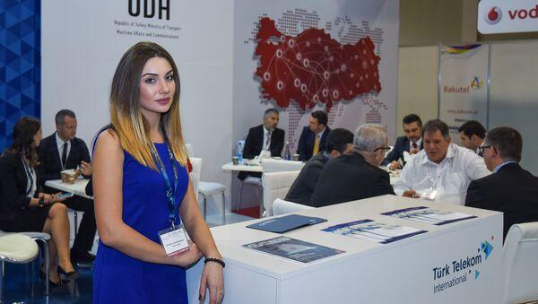 Двадцать вторая Азербайджанская международная выставка и конференция Телекоммуникации и информационные технологии Bakutel-2016 - Sputnik Азербайджан